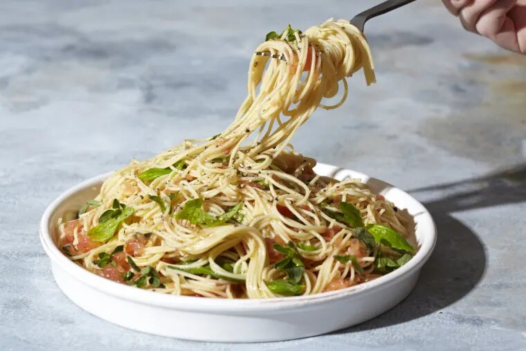 Spaghettis à l'Ail en moins de 10 minutes