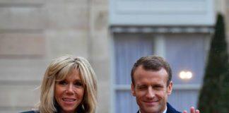 Brigitte Macron week-end