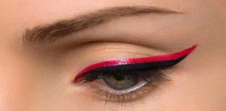 Eyeliner rouge