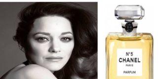 La nouvelle égérie du parfum Chanel N°5 n'est autre que...Marion Cotillard