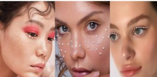 Pearly Make-up : Cette nouvelle tendance maquillage avec des perles