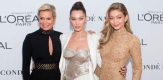 Yolanda Hadid rejoint Bella et Gigi sur le podium