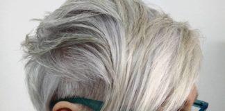 Des coupes de cheveux spéciales cheveux gris