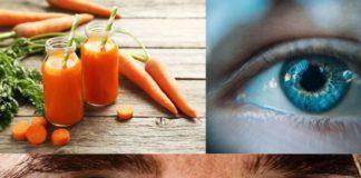 Du jus de carotte pour se débarrasser des cernes