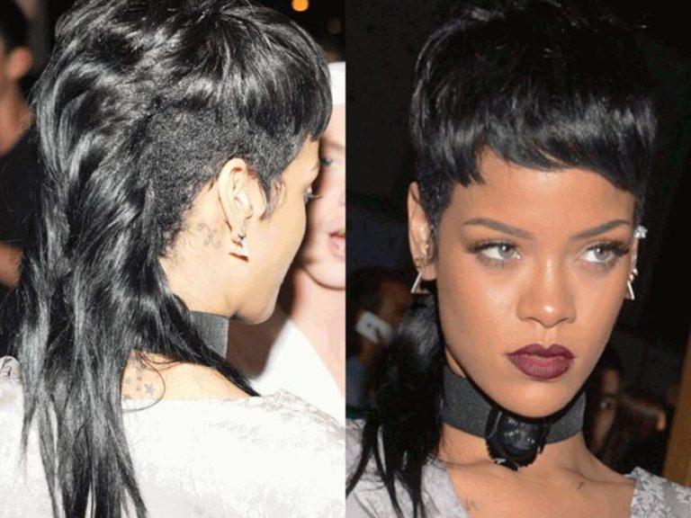Coupe Mulet: Rihanna relance la tendance !