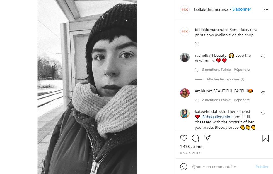 Bella Kidman Cruise - Instagram