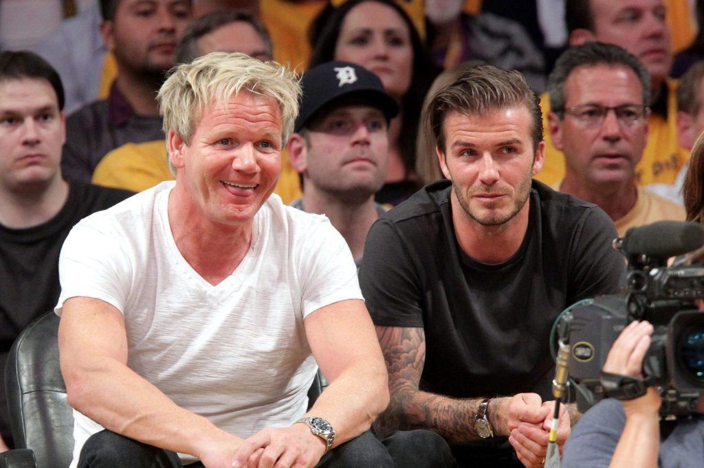 Gordon Ramsay et David Beckham