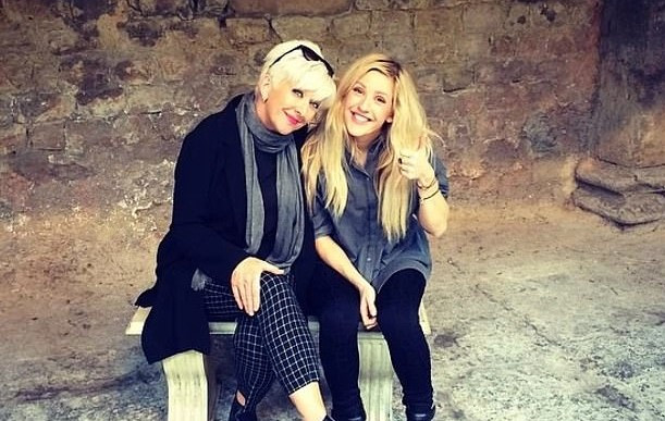 Ellie Goulding et sa maman
