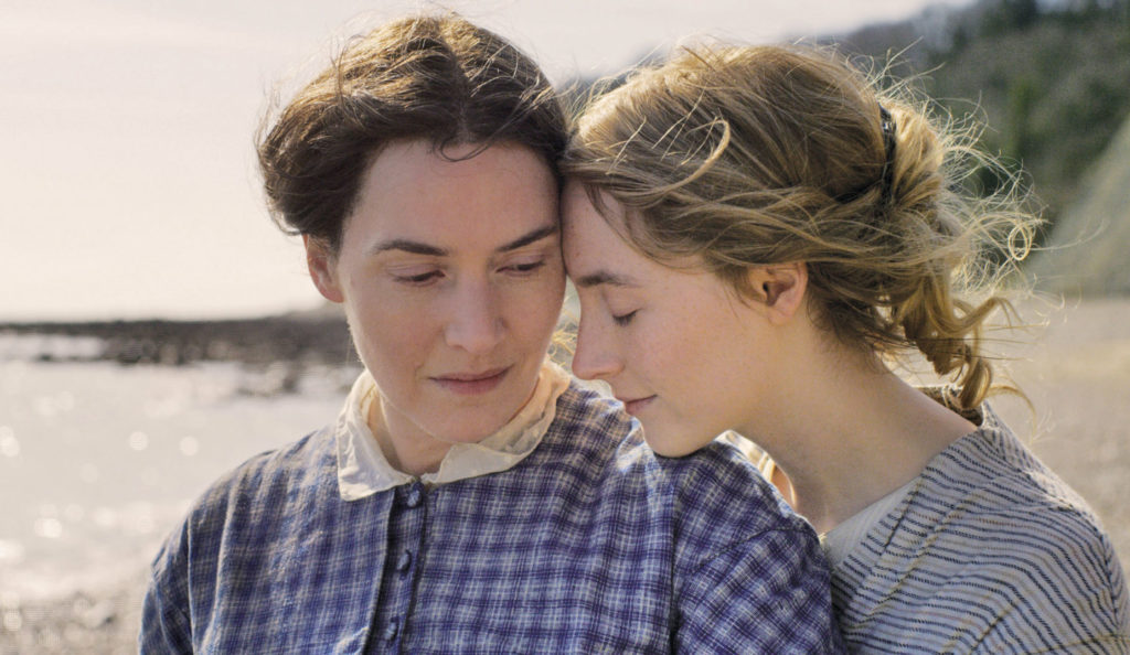 Kate Winslet et Saoirse Ronan