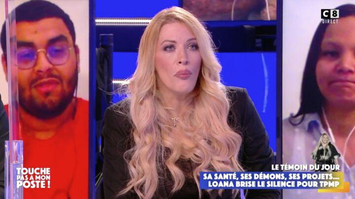 Loana est présente lors d'une des émissions de Touche pas à mon Poste