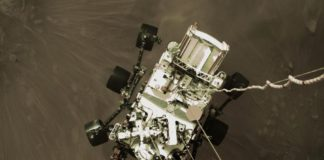 La NASA dévoile pour la première fois l'atterrissage du Rover Perseverance sur Mars