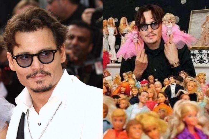 Collections : Johnny Depp et les poupées Barbie