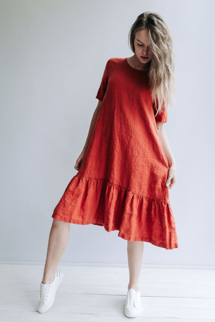 Tendances 2021 : la robe taille basse