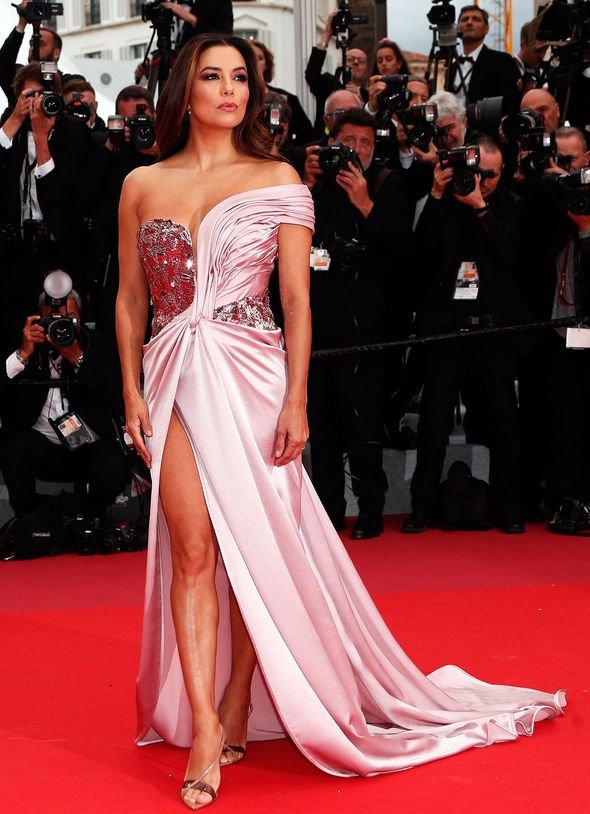 Tenues tapis rouge : Eva Longoria