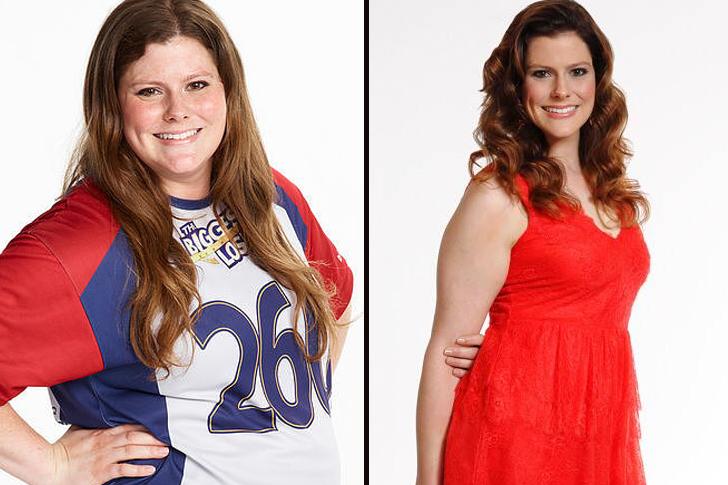Perte de poids : Rachel Frederickson
