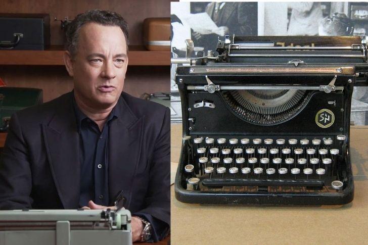 Collections : Tom Hanks et les machines à écrire
